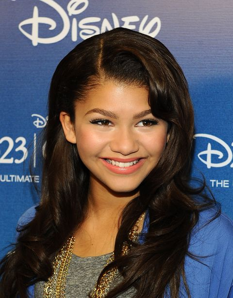 "anaheim, ca   august 21  actress zendaya coleman arrives for the ""shake it up"" panel during disney's d23 expo 2011 at the anaheim convention center on august 21, 2011 in anaheim, california  photo by michael bucknergetty images"