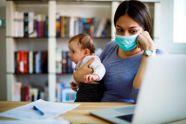 working mothers job loss