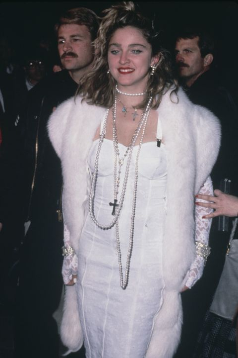 american singer and actress madonna at the premiere of the film desperately seeking susan, usa, 29th march 1985 photo by vinnie zuffantemichael ochs archivesgetty images