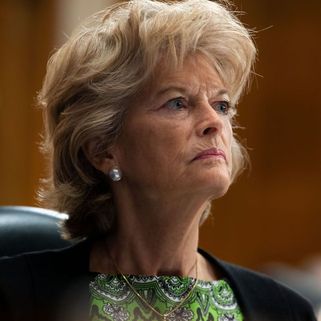republican senator from alaska lisa murkowski speaks during the us senate health, education, labor, and pensions committee hearing to examine covid 19, focusing on lessons learned to prepare for the next pandemic, on capitol hill in washington, dc on june 23, 2020 photo by michael reynolds  pool  afp photo by michael reynoldspoolafp via getty images