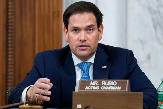 united states   june 24 acting chairman sen marco rubio, r fla, conducts the senate select intelligence committee confirmation hearing for peter michael thomson, nominee to be inspector general of the central intelligence agency, in russell building on wednesday, june 24, 2020 photo by tom williamscq roll call, inc via getty images