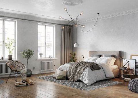 elegant bedroom interiors from an old turn of the century apartment