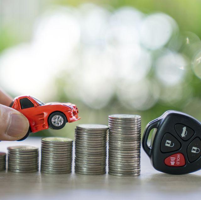 car loan,money,car insurance concept