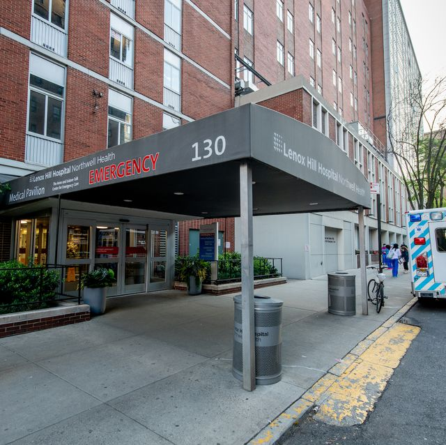 new york, new york   may 16  a view of the lenox hill hospital emergency room entrance on may 16, 2020 lenox hill hospital in new york city covid 19 has spread to most countries around the world, claiming over 313,000 lives with over 47 million infections reported photo by roy rochlingetty images