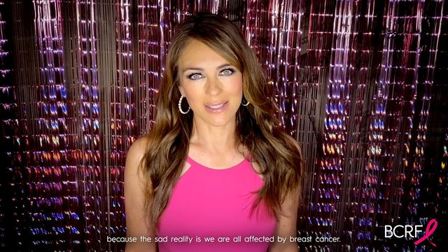 unspecified   may 20 in this screengrab, elizabeth hurley speaks during the breast cancer research foundation virtual hot pink evening on may 20, 2020 photo by getty imagesgetty images for breast cancer research foundation