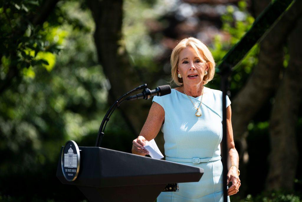 Betsy DeVos Has a Plan. It Just Has Nothing to Do With Health and Safety in Schools.