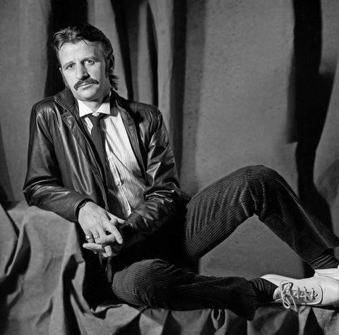 los angeles   april 1980  ringo starr  poses for agoodbye john portrait in los angeles, california 1980photo by aaron rapoportcorbisgetty images