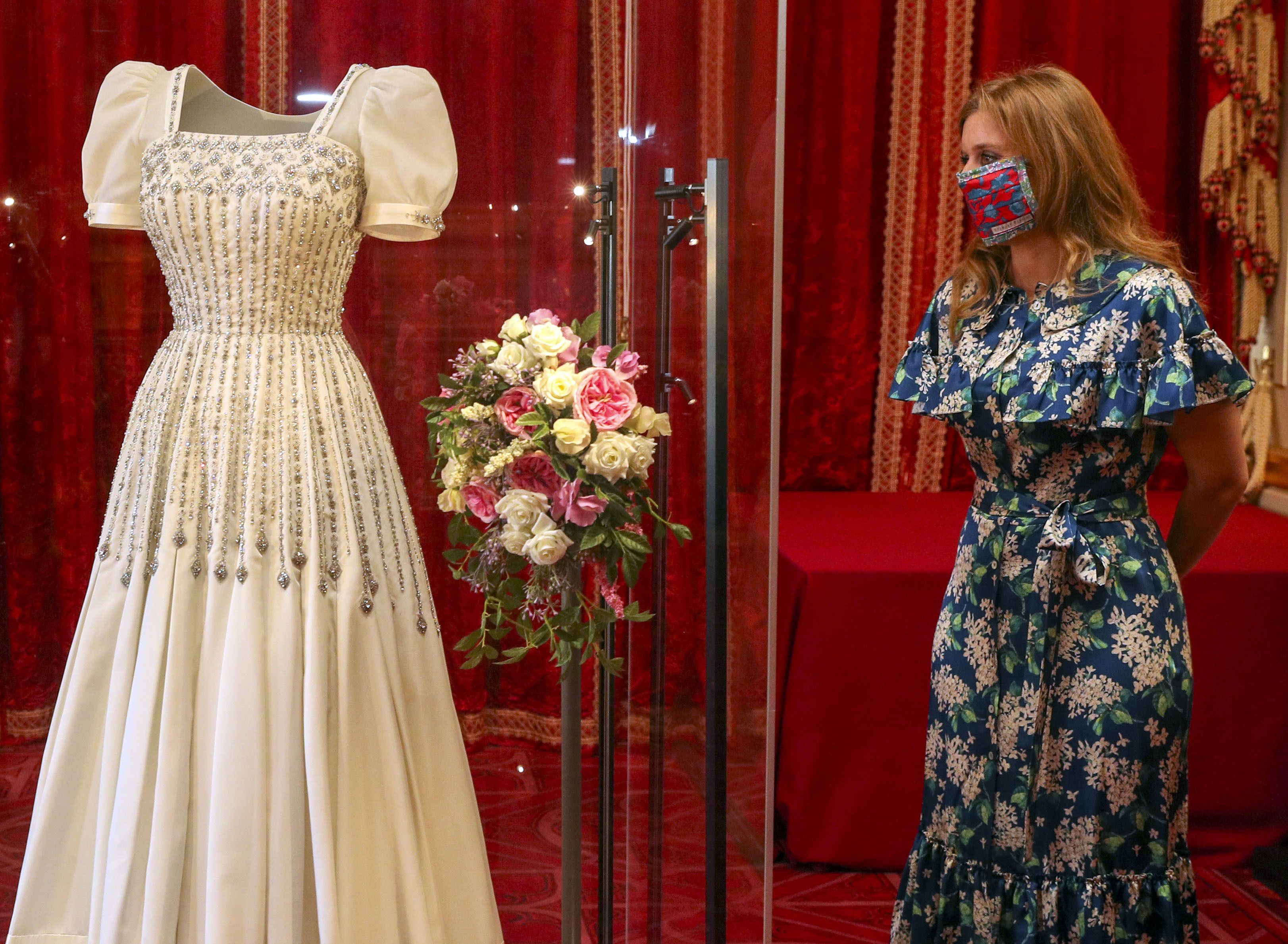 Princess Beatrice's Wedding Dress Is Now on Display at Windsor Castle