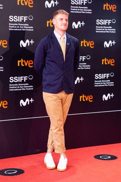 harry macqueen attends supernova premiere during the 68th san sebastian film festival, in san sebastian, spain, on september 23, 2020 photo by frank lovicarionurphoto via getty images