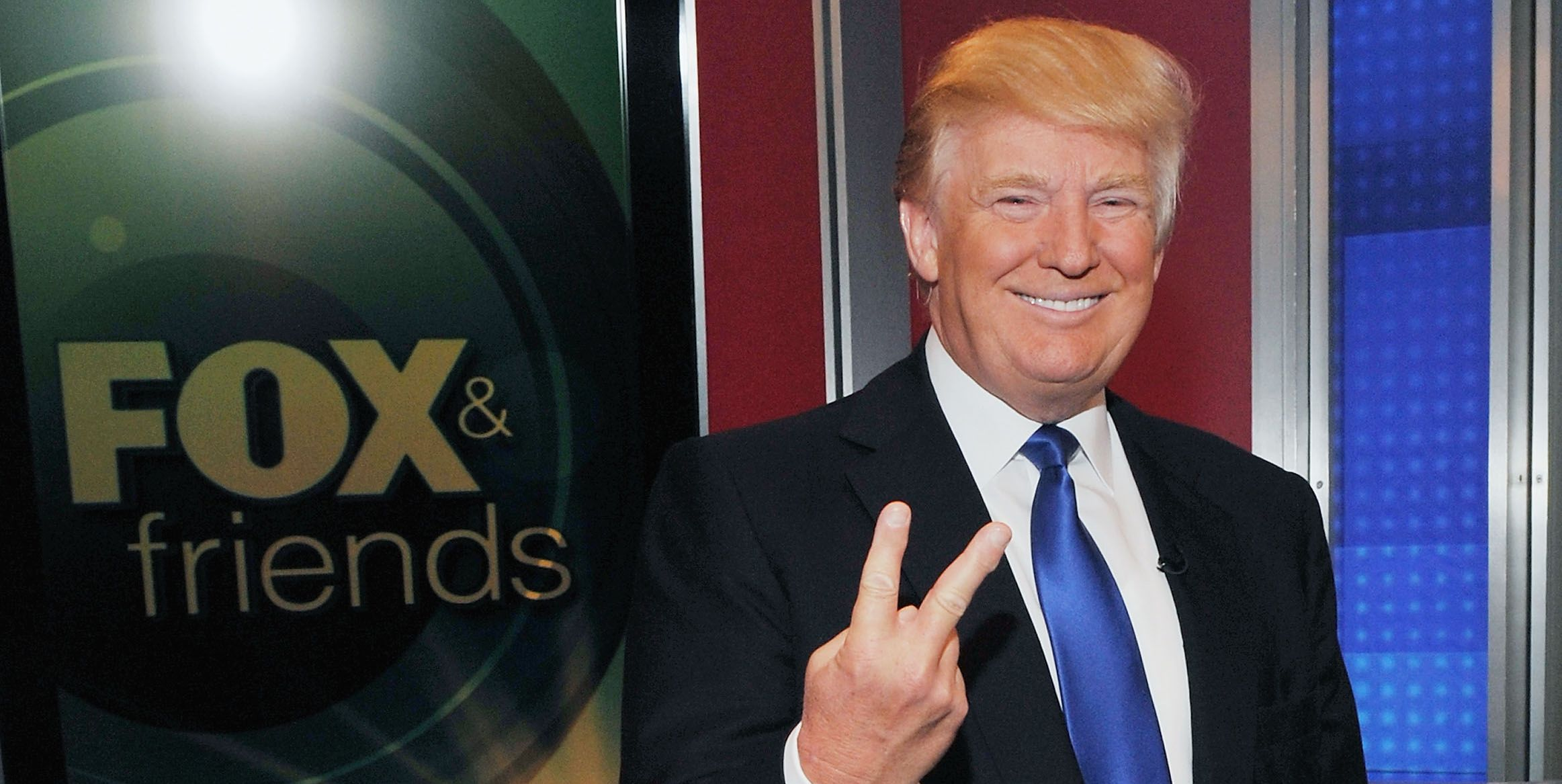 "Donald Trump & LaLa Anthony Visit ""FOX And Friends"""