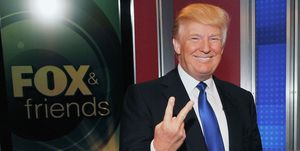 """Donald Trump & LaLa Anthony Visit """"FOX And Friends"""""""