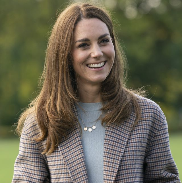 derby, england   october 06 catherine, duchess of cambridge visits students at the university of derby to hear how the pandemic has impacted university life and what national measures have been put in place to support student mental health on october 6, 2020 in derby, england photo by arthur edwards   wpa poolgetty images