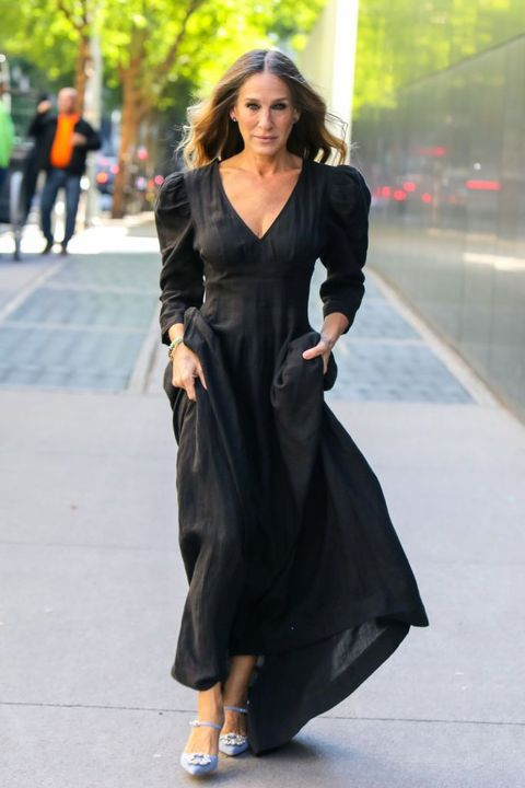 sarah jessica parker out in new york, october 2020