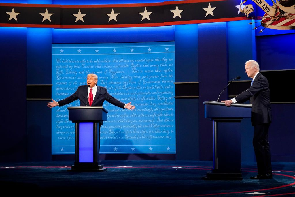 The Debate Showcased the Greasy Line of Slime This President Has Left in the Country's Politics