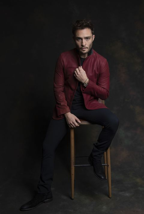 los angeles, california   october 21 ed westwick poses for a portrait at the 16th annual oscar qualifying hollyshorts film festival on november 6, 2020 in los angeles, california photo by michael bezjiangetty images for hollyshorts studios llc