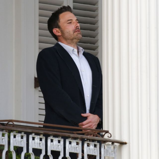 new orleans, la   november 20  ben affleck seen filming on november 20, 2020 in new orleans louisiana photo by megagc images