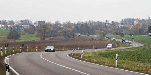 01 december 2020, saxony, leipzig cars drive in cloudy weather over a country road in the west of leipzig photo jan woitasdpa zentralbildzb photo by jan woitaspicture alliance via getty images