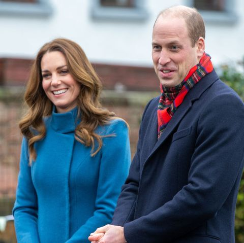 berwick upon tweed, england   december 07  prince william, duke of cambridge and catherine, duchess of cambridge meet staff and pupils from holy trinity church of england first school as part of their working visits across the uk ahead of the christmas holidays on december 7, 2020 in berwick upon tweed, united kingdom during the tour william and kate will visit communities, outstanding individuals and key workers to thank them for their efforts during the coronavirus pandemic photo by andy commins   wpa poolgetty images