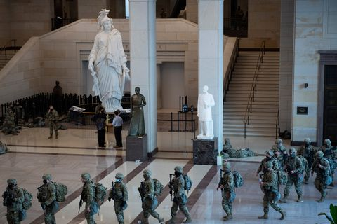 national guardsmen, capitol, washington