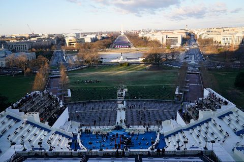 joe biden's inauguration ceremony