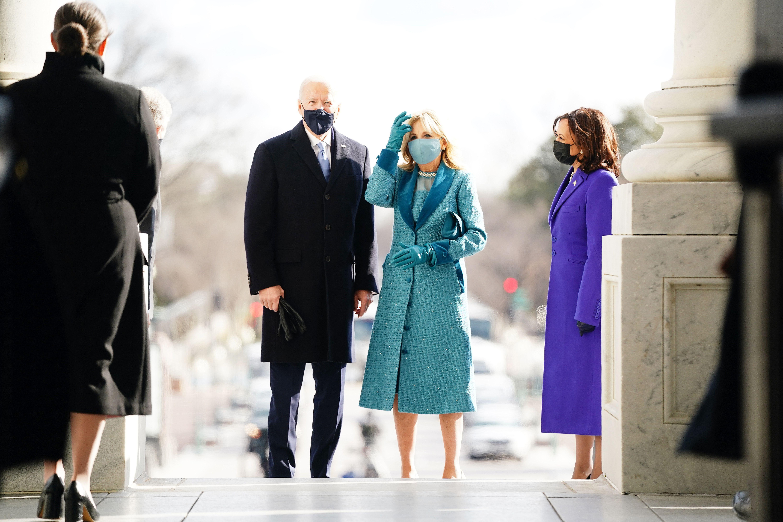 Jill Biden Inauguration Dress 2021 Jill Biden Inauguration Day Outfit