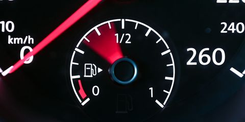 03 february 2021, saxony, leipzig the pointer of the fuel gauge of a passenger car strikes out when the ignition is switched on photo hendrik schmidtdpa zentralbildzb photo by hendrik schmidtpicture alliance via getty images