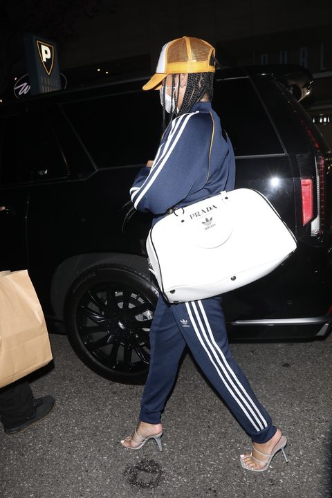 rihanna in los angeles on april 12, 2021