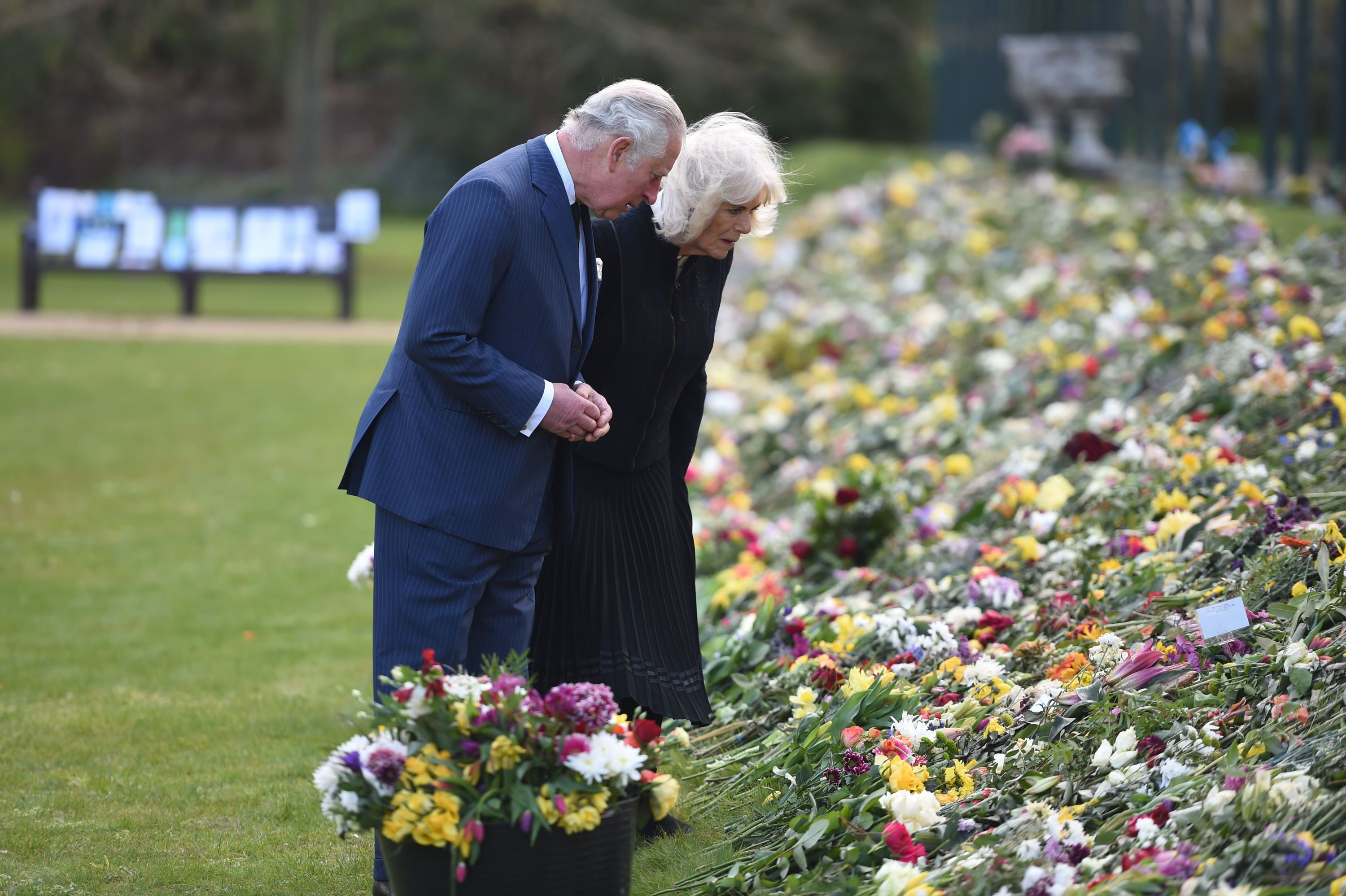 Prince Charles Teared Up as He Read Tributes to Father Prince Philip