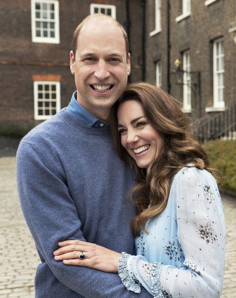 london, england   april 29 this image is provided for free editorial use in connection with the anniversary until may 12th 2021, it must then be removed from your databases  thereafter it will be available only via camera press in this handout issued on 28th april 2021 by camera press, the duke and duchess of cambridge pose for a portrait taken at kensington palace this week to mark their 10th wedding anniversary on april 29, 2021 in london, united kingdom  photo by chris floydcamera press via getty images  news editorial use only no commercial use no merchandising, advertising, souvenirs, memorabilia or colourably similar this photograph is provided to you strictly on condition that you will make no charge for the supply, release or publication of it and that these conditions and restrictions will apply and that you will pass these on to any organisation to whom you supply it there shall be no commercial use whatsoever of the photographs including by way of example only any use in merchandising, advertising or any other non news editorial use the photographs must not be digitally enhanced, manipulated or modified in any manner or form and must include all of the individuals in the photograph when published all other requests for use should be directed to the press office at kensington palace in writing note to editors this handout photo may only be used in for editorial reporting purposes for the contemporaneous illustration of events, things or the people in the image or facts mentioned in the caption reuse of the picture may require further permission from the copyright holder