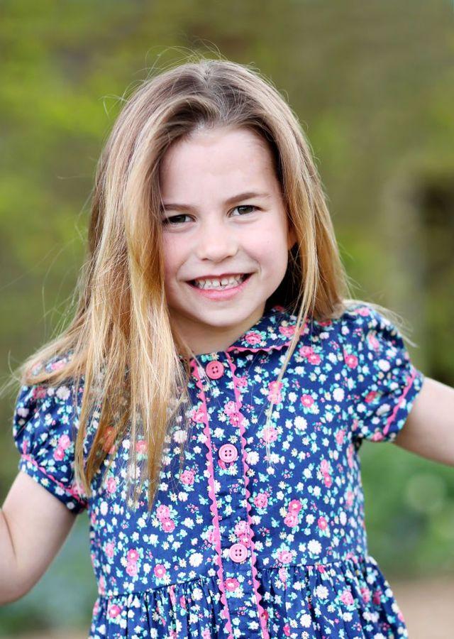 princess charlotte celebrates her sixth birthday