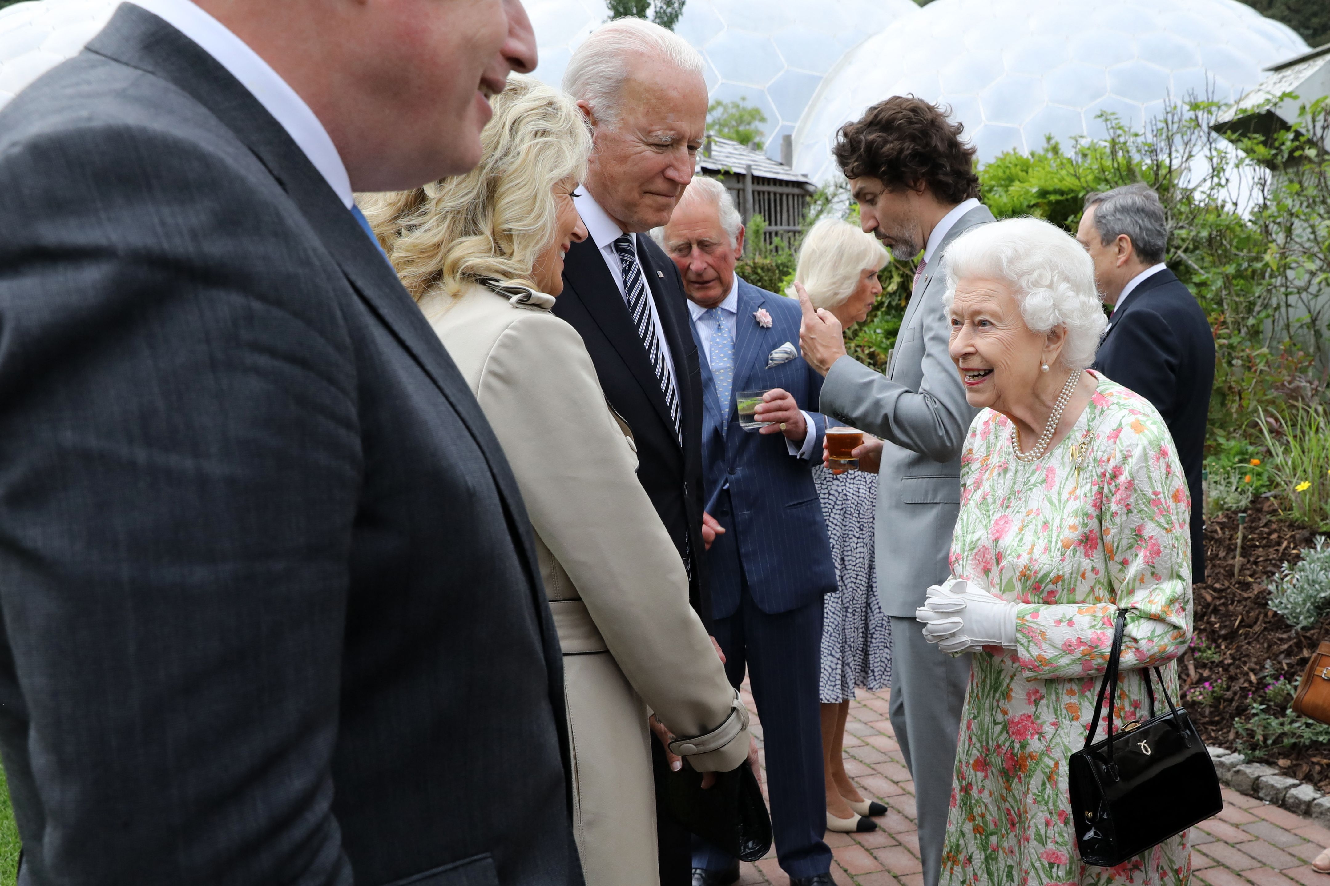Did the Queen's Brooch Secretly Pay Tribute to Harry and Meghan?