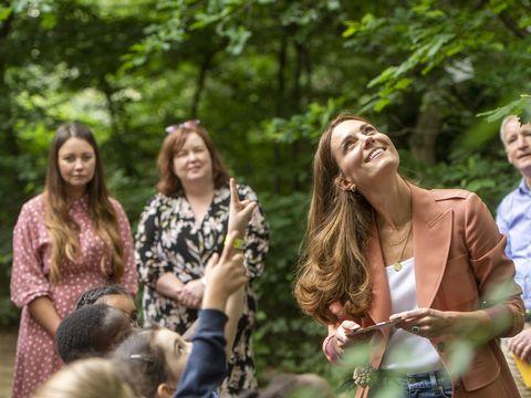 kate middleton nature history museum visit 2021