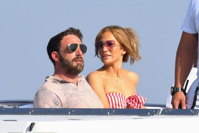 amalfi, italy   july 28 ben affleck and jennifer lopez are seen on july 28, 2021 in amalfi, italy photo by megagc images
