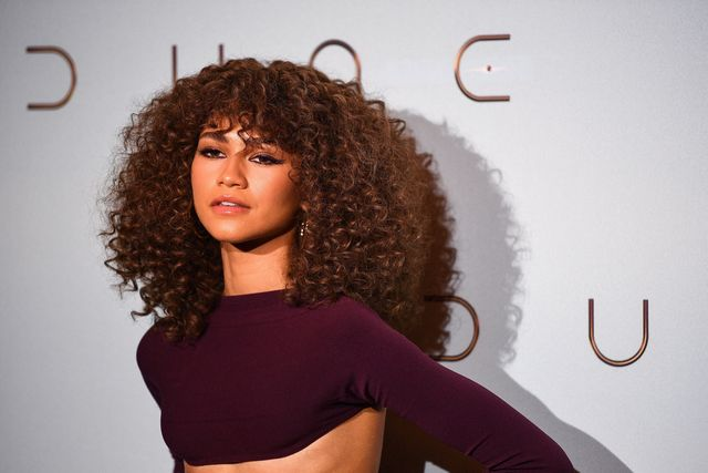 us actress zendaya coleman, aka zendaya poses during a photocall ahead of the avant premiere of the science fiction movie dune at the grand rex cinema hall in paris on september 6, 2021 photo by christophe archambault  afp photo by christophe archambaultafp via getty images