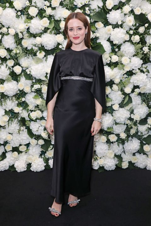 london, england   september 20  claire foy attends an intimate dinner and party hosted by british vogue and tiffany  co to celebrate fashion and film during london fashion week september 2021 at the londoner hotel on september 20, 2021 in london, england  photo by david m benettdave benettgetty images