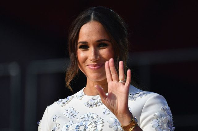 duchess of sussex meghan markle speaks during the 2021 global citizen live festival at the great lawn, central park on september 25, 2021 in new york city photo by angela weiss  afp photo by angela weissafp via getty images
