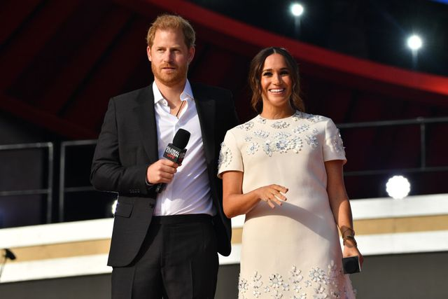 new york, ny   september 25  prince harry and meghan markle at global citizen live on september 25, 2021 in new york city  photo by ndzstar maxgc images