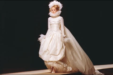 "Fashion: ""Haute Couture"" Spring.Summer 2000 In Paris, France On January 18, 2000."
