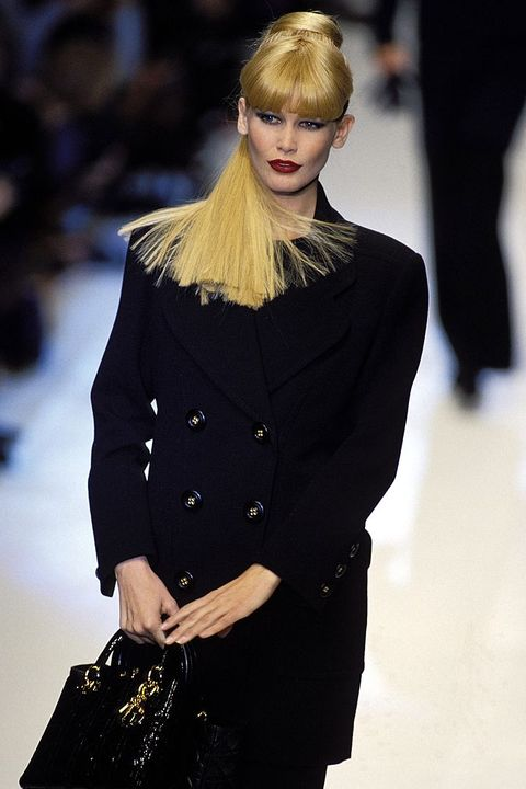 Fashion: Ready To Wear Spring -Summer 1996 In Paris, France On October 14, 1995.