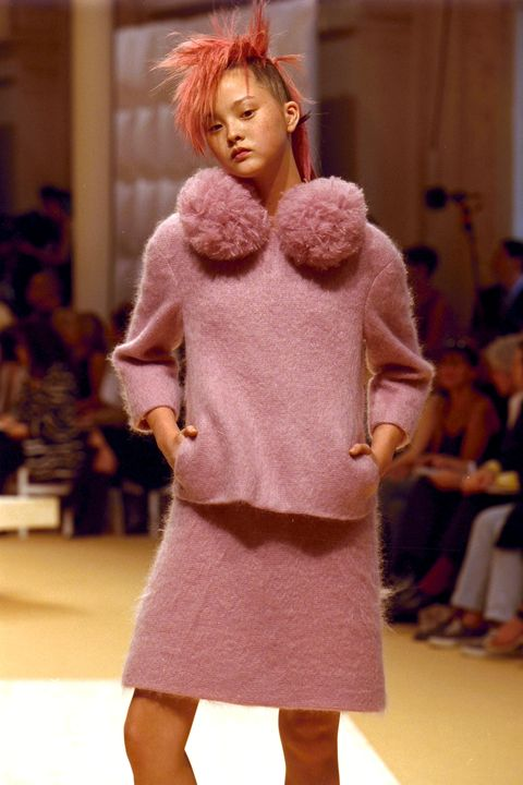 Haute Couture Fall -Winter 1999 -2000 Fashion Show In Paris, France On July 15, 1999.