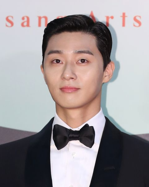 goyang, south korea   june 05 park seo joon attends the 56th baeksang arts awards at kintex on june 05, 2020 in goyang, south korea photo by jtbc plusimazins via getty images