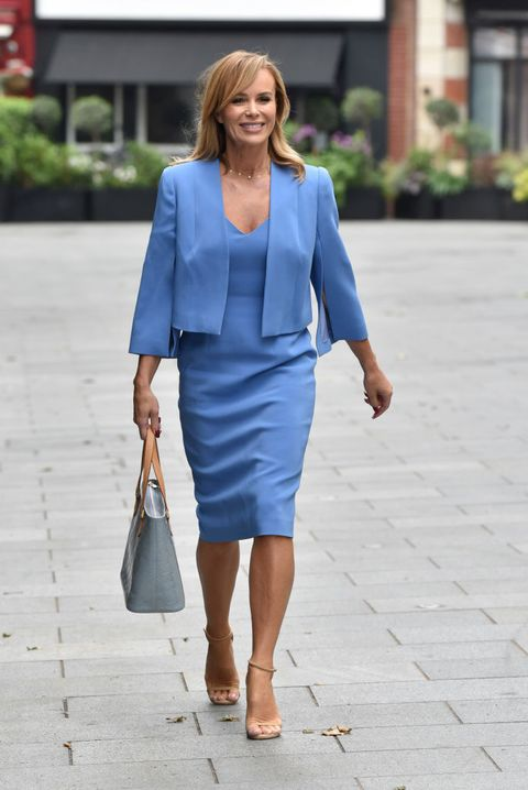 london, england   june 12  amanda holden sighting on june 12, 2020 in london, england photo by hglgc images