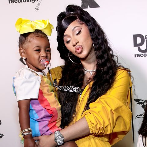 beverly hills, california   june 17 kulture kiari cephus and cardi b attend the teyana taylor the album listening party on june 17, 2020 in beverly hills, california photo by rich furygetty images for def jam recordings