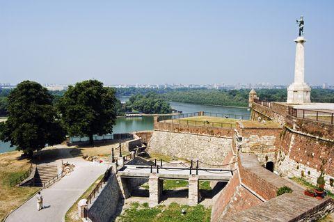 Property, Building, Architecture, Wall, Landscape, Historic site, Tourism, House, Tower, City,