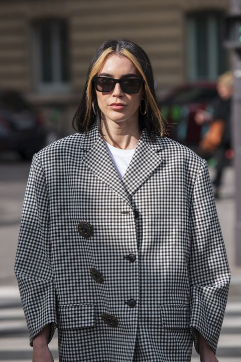 paris, france   march 03 digital influencer brittany xavier wears all miu miu on march 03, 2020 in paris, france photo by kirstin sinclairgetty images