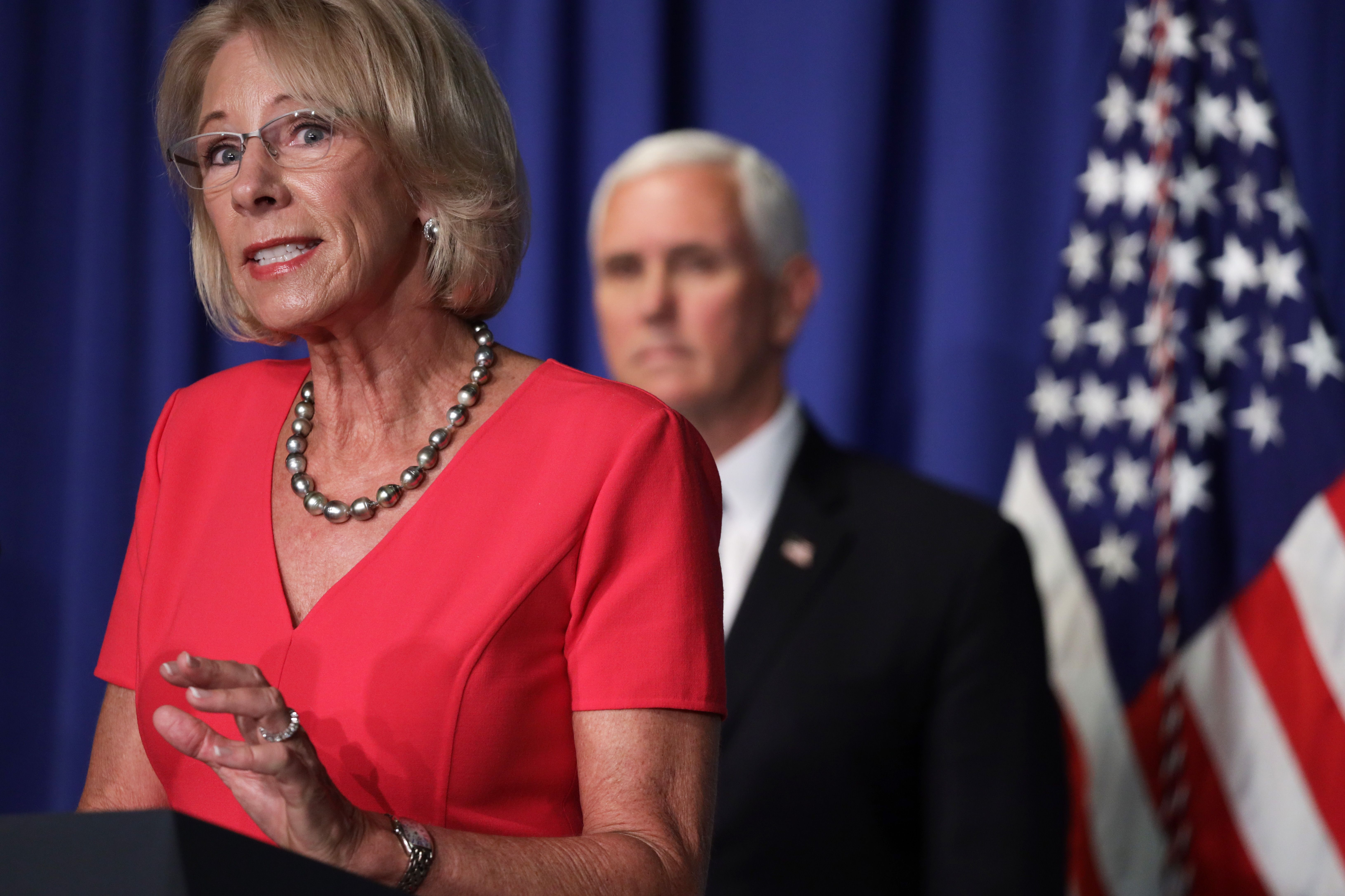 The Only Education Matter Betsy DeVos Ever 'Thought Hard' About Was How to Make a Buck On It
