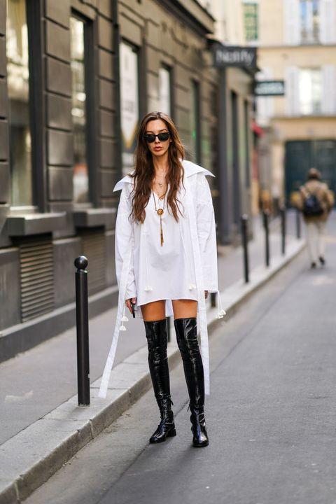 tendenze scarpe inverno 2021 come indossare stivali cuissardes