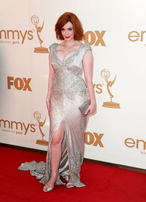 Sexy Emmy Awards Dresses Naked Gown At Primetime Emmy Awards