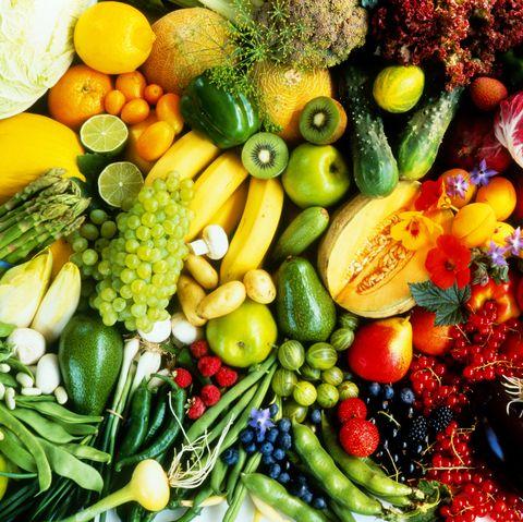 Assorted fruit & vegetables