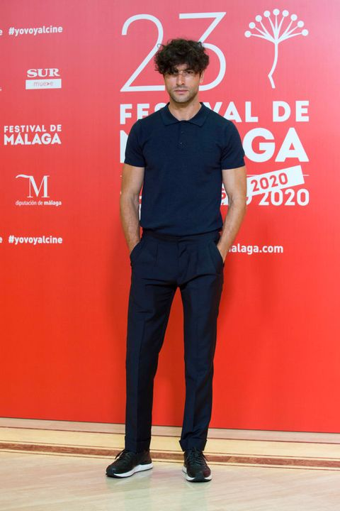 malaga, spain   august 23 javier rey attends the photocall of the third day of the malaga film festival 2020 on august 23, 2020 in malaga, spain photo by daniel perez garcia santosgetty images